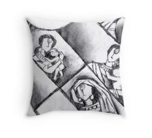Mother Series 1. Throw Pillow
