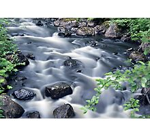 Flowing river 2 Photographic Print