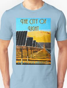 The 100 - Vintage Travel Poster (The City of Light) Unisex T-Shirt