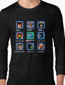 MegaMan vs Mortal Kombat Long Sleeve T-Shirt