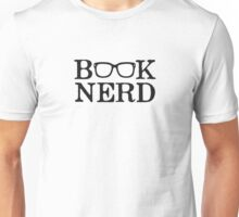 Book Nerd Nerdy Glasses Unisex T-Shirt