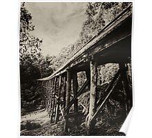 Noojee trestle bridge Poster