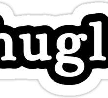 Thug Life - Hashtag - Black & White Sticker