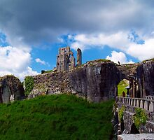 Corfe Castle by Mike Streeter