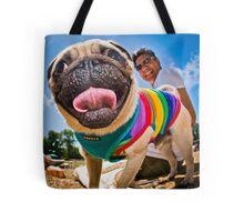 Pug - Brighton Pride Dog Show Tote Bag