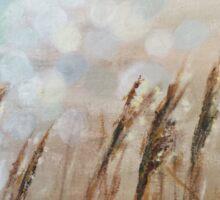 Wheat field  Sticker