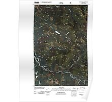 USGS Topo Map Washington State WA Canyon Lake 20110509 TM Poster