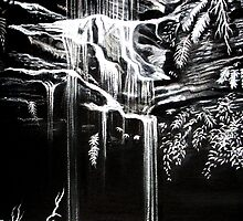 Waterfall, Blue Mountains by Linda Callaghan