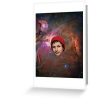 Space Cera Greeting Card