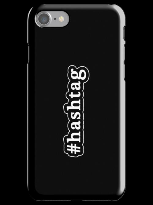 Hashtag - Hashtag - Black & White by graphix