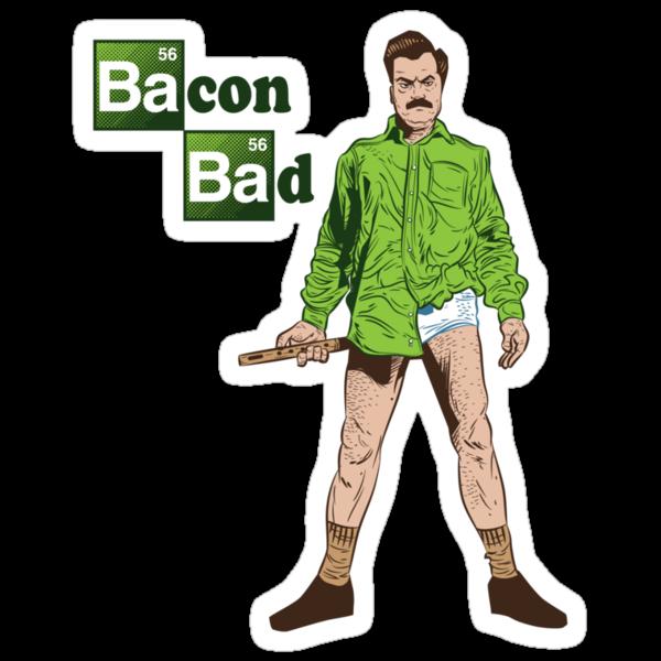Bacon Bad by nikholmes