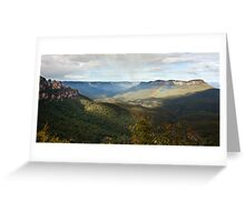 Jamison Valley - Blue Mountains Greeting Card