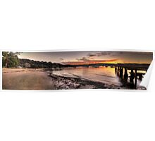 Clareville  Sunset - Clareville,Sydney Australia - The HDR Experience                  Poster
