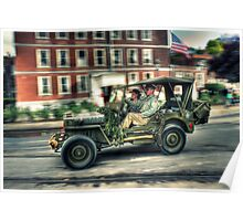 Willys MB Poster