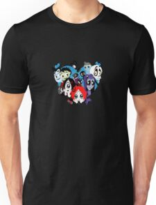 Ruby Gloom heart Unisex T-Shirt