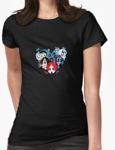 Ruby Gloom heart Womens Fitted T-Shirt
