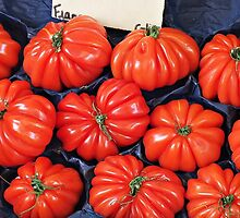 ! Pleated Tomatoes????????! by Malcolm Chant