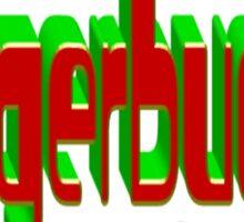 huggerbugger Sticker
