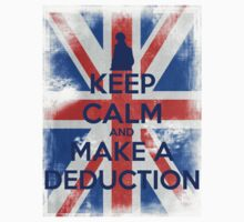 KEEP CALM and Make a Deduction - UJ - Blue by Golubaja