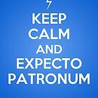 Keep Calm and Expecto Patronum by eraygakci