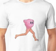 Kirby With A Human Butt And Legs Unisex T-Shirt