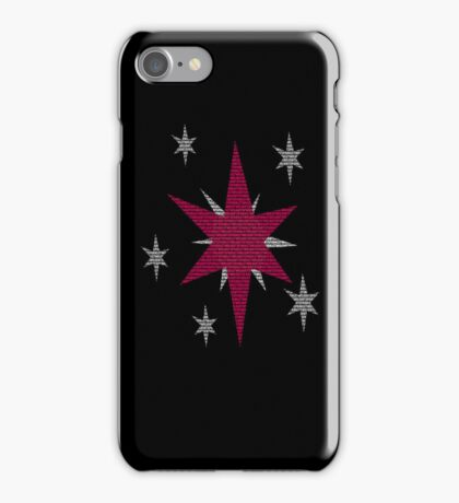 Twilight Sparkle Text Black iPhone Cover iPhone Case/Skin