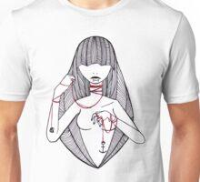 red string  Unisex T-Shirt