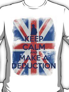 KEEP CALM and Make a Deduction - UJ - Blue - 2 T-Shirt