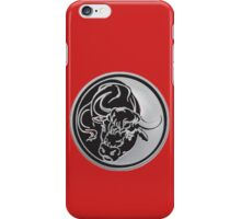 Bull Emblem iPhone Case/Skin