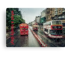 What a lovely day! Canvas Print