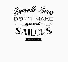 Smooth Seas Lyric Print Unisex T-Shirt
