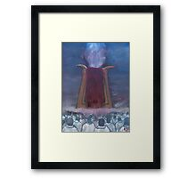 """How Much Longer""  by Carter L. Shepard Framed Print"