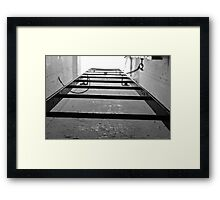 Ladder of ww2  Framed Print