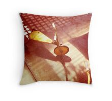 1970's Tricycle Throw Pillow