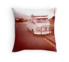 Kombi Van Throw Pillow