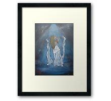 """Let The Dance Begin""  by Carter L. Shepard Framed Print"