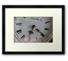 Nana clock Framed Print