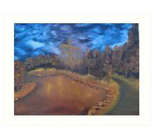 """Light The Way""  by Carter L. Shepard Art Print"