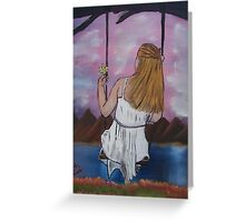 """""""Longing""""  by Carter L. Shepard Greeting Card"""