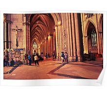 Inside the Minster Poster