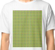 Green Yellow Fish Scales Classic T-Shirt
