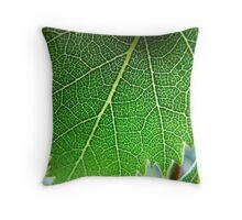 Green Vibe Throw Pillow