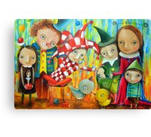 Friends Of The Prince Canvas Print