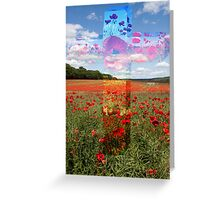 Remembrance Cross Greeting Card