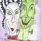 Mr. and Mrs. Frankenstein by Deb Coats