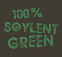100% SOYLENT GREEN by SixPixeldesign