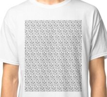 Circle Bloop Black and White Classic T-Shirt