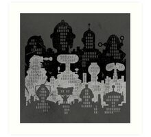 ROBOT CITY! Art Print