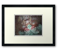 DAINTY BLOSSOMS Framed Print