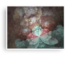 DAINTY BLOSSOMS Canvas Print